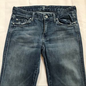 7 For All Mankind Jeans - 7 For All Mankind A Pocket Size 28 Flare